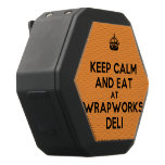 [Crown] keep calm and eat at wrapworks deli  Boombot REX Speaker Black Boombot Rex Bluetooth Speaker
