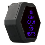 [Crown] keep calm and rep msfts  Boombot REX Speaker Black Boombot Rex Bluetooth Speaker