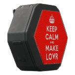 [Crown] keep calm and make lovr  Boombot REX Speaker Black Boombot Rex Bluetooth Speaker