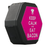 [Chef hat] keep calm and eat bacon  Boombot REX Speaker Black Boombot Rex Bluetooth Speaker