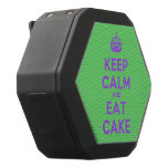 [Crown] keep calm and eat cake  Boombot REX Speaker Black Boombot Rex Bluetooth Speaker
