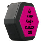 [Crown] keep calm and dance on  Boombot REX Speaker Black Boombot Rex Bluetooth Speaker