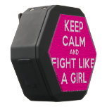 keep calm and fight like a girl  Boombot REX Speaker Black Boombot Rex Bluetooth Speaker
