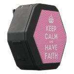 [Crown] keep calm and have faith  Boombot REX Speaker Black Boombot Rex Bluetooth Speaker
