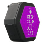 [Cutlery and plate] keep calm and just eat  Boombot REX Speaker Black Boombot Rex Bluetooth Speaker