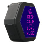 [Dancing crown] keep calm and love music  Boombot REX Speaker Black Boombot Rex Bluetooth Speaker