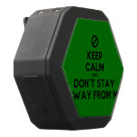 [No sign] keep calm and don't stay away from me  Boombot REX Speaker Black Boombot Rex Bluetooth Speaker