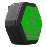 [Crown] keep calm its my little sister birthday  Boombot REX Speaker Black Boombot Rex Bluetooth Speaker