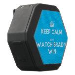[Crown] keep calm and watch brady win  Boombot REX Speaker Black Boombot Rex Bluetooth Speaker