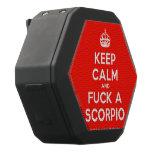 [Crown] keep calm and fuck a scorpio  Boombot REX Speaker Black Boombot Rex Bluetooth Speaker