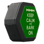 [Dogs bone] [Dogs bone] [Dogs bone] keep calm and bark on  Boombot REX Speaker Black Boombot Rex Bluetooth Speaker