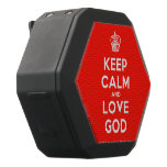 [Cupcake] keep calm and love god  Boombot REX Speaker Black Boombot Rex Bluetooth Speaker