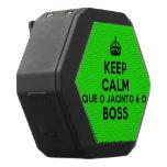 [Crown] keep calm que o jacinto é o boss  Boombot REX Speaker Black Boombot Rex Bluetooth Speaker