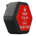 [Crown] keep calm and eat your food  Boombot REX Speaker Black Boombot Rex Bluetooth Speaker
