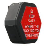 [Crown] keep calm and where the fuck did you come from?!  Boombot REX Speaker Black Boombot Rex Bluetooth Speaker