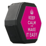 [Crown] keep calm and make it easy  Boombot REX Speaker Black Boombot Rex Bluetooth Speaker