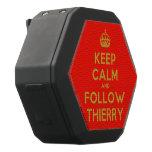 [Crown] keep calm and follow thierry  Boombot REX Speaker Black Boombot Rex Bluetooth Speaker