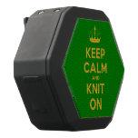 [Knitting crown] keep calm and knit on  Boombot REX Speaker Black Boombot Rex Bluetooth Speaker