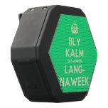 [Crown] bly kalm dis amper lang- naweek  Boombot REX Speaker Black Boombot Rex Bluetooth Speaker