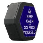 [Crown] keep calm and go fuck yourself  Boombot REX Speaker Black Boombot Rex Bluetooth Speaker
