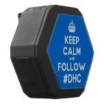 [Crown] keep calm and follow #dhc  Boombot REX Speaker Black Boombot Rex Bluetooth Speaker