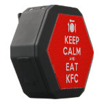 [Cutlery and plate] keep calm and eat kfc  Boombot REX Speaker Black Boombot Rex Bluetooth Speaker