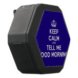 [Dancing crown] keep calm and tell me good morning!  Boombot REX Speaker Black Boombot Rex Bluetooth Speaker