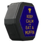 [Chef hat] keep calm and eat a muffin  Boombot REX Speaker Black Boombot Rex Bluetooth Speaker