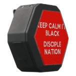 keep calm i'm black disciple nation  Boombot REX Speaker Black Boombot Rex Bluetooth Speaker