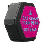 [Crown] eat clean train mean and get lean  Boombot REX Speaker Black Boombot Rex Bluetooth Speaker