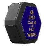 [Crown] keep calm and eat wings  Boombot REX Speaker Black Boombot Rex Bluetooth Speaker