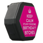 [Crown] keep calm its my fucking birthday bitches  Boombot REX Speaker Black Boombot Rex Bluetooth Speaker