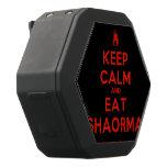 [Campfire] keep calm and eat shaorma  Boombot REX Speaker Black Boombot Rex Bluetooth Speaker