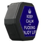 [Crown] keep calm and fucking enjoy life  Boombot REX Speaker Black Boombot Rex Bluetooth Speaker
