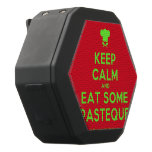 [Chef hat] keep calm and eat some pasteque  Boombot REX Speaker Black Boombot Rex Bluetooth Speaker