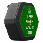 [Crown] keep calm and walk on  Boombot REX Speaker Black Boombot Rex Bluetooth Speaker