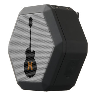 Boombot Rex speaker with personalized guitar