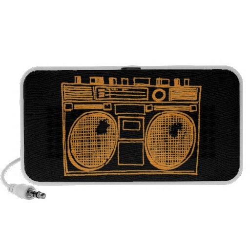 Boombox 1 speakers