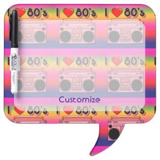 Boombox 80's Retro 80's Dry Eraser Board 2