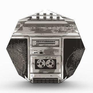 Boombox Acrylic Award