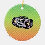 Boombox Adornos De Navidad