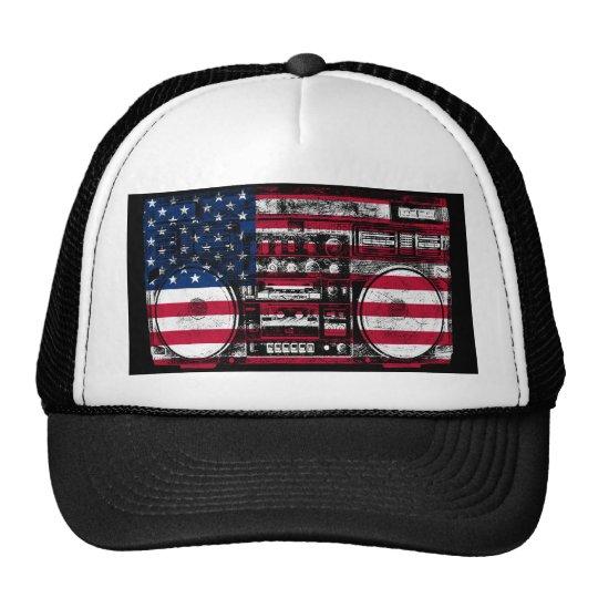 boombox americano gorra
