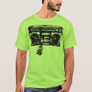 Boombox And Cassette Tape Art T-Shirt