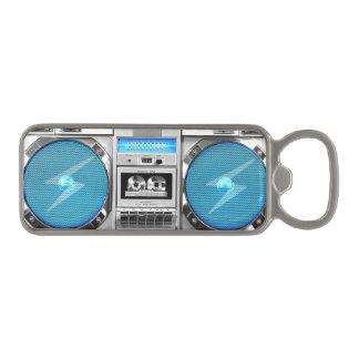 Boombox azul abrebotellas magnético