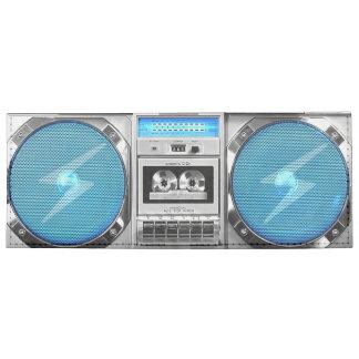 Boombox azul billeteras tyvek®