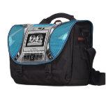 Boombox azul bolsas de portatil
