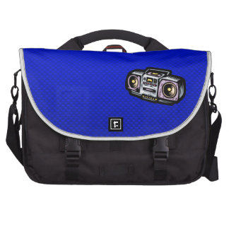Boombox; Azul Bolsas Para Portatil