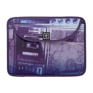 Boombox azul fundas macbook pro