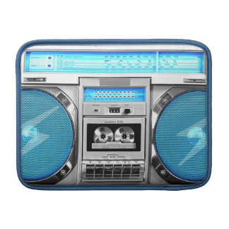 Boombox azul fundas para macbook air