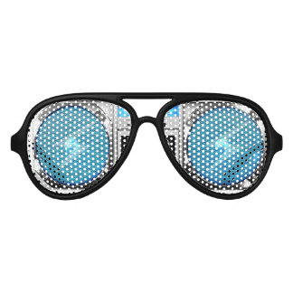 Boombox azul lentes de sol